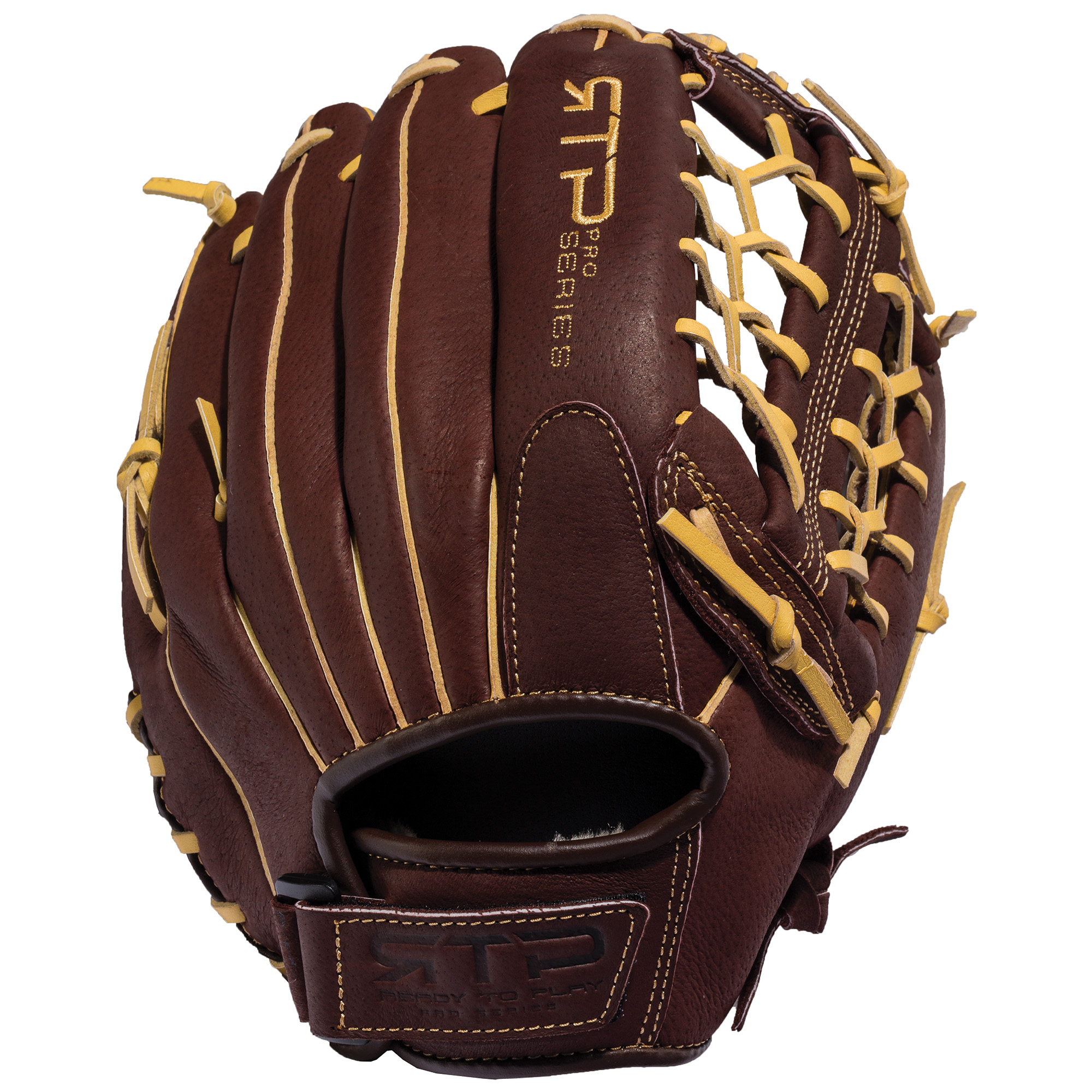 "Franklin 12"" RTP Pro Series Pigskin Leather Baseball Glove, Right Hand Throw"