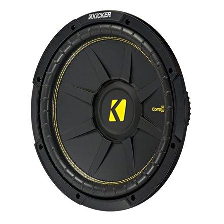 Kicker 10 Inch CompC 500 Watt 4 Ohm Single Voice Coil SVC Subwoofer | 44CWCS104 ()