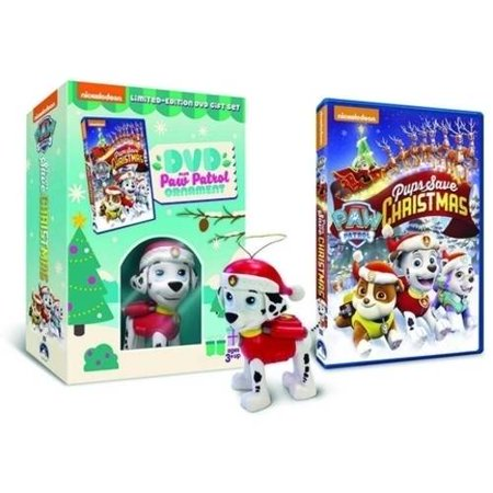 Paw Patrol: Pups Save Christmas (Limited Edition Gift Set) (Walmart Exclusive) (DVD + Paw Patrol Ornament) ()