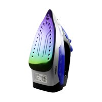Conair Rainbow Extreme Steam 1550W Clothes Iron, Rainbow Titanium Soleplate, Model GI100