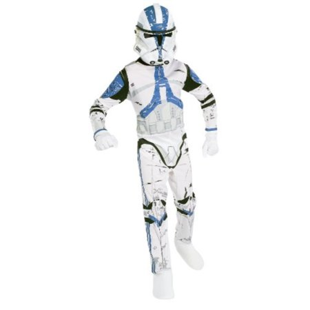 Rubie's Star Wars Clone Trooper 3-D Action Suit Set Size 4 to 6