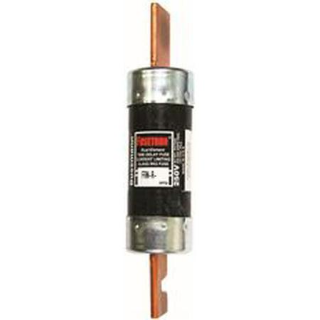 Cooper Bussmann Fusetron Time Delay Cartridge Fuse, 100 Amps, 5 Per Pack