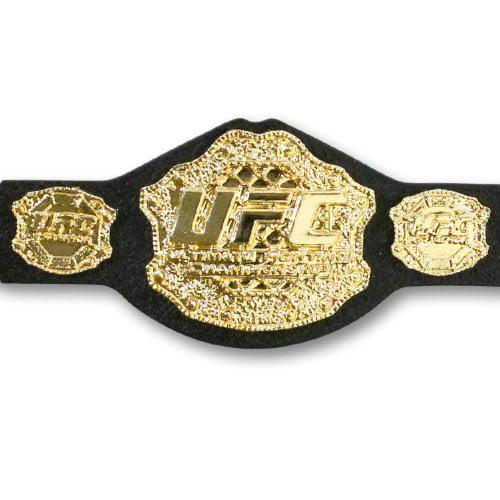 UFC Heavyweight Championship Action Figure Belt by Jakks by