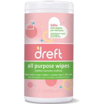 Multi-Surface Wipes: Dreft All Purpose Wipes