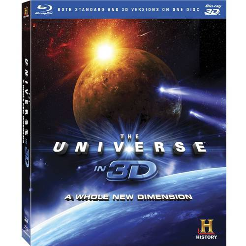 The Universe In 3D: A Whole New Dimension (Blu-ray)