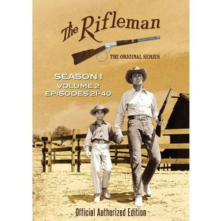 The Rifleman: Season 1 Volume 2 (Episodes 21 - 40) (DVD) - First Halloween Episode Of The Office