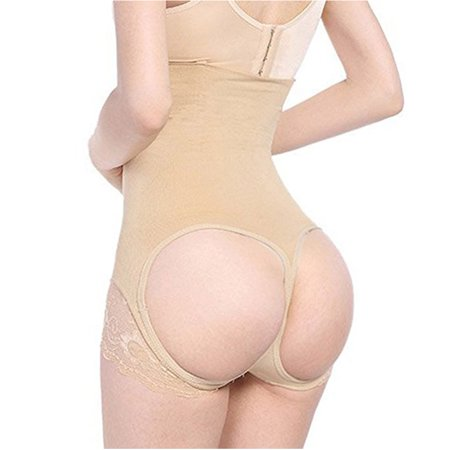 a89b0aaa76 Lelinta - Women s Shapewear Butt Lifter Panty High Waist Ultra Firm Control  Tummy Body Shaper Slimmer Brief Tight Panties Underwear - Walmart.com