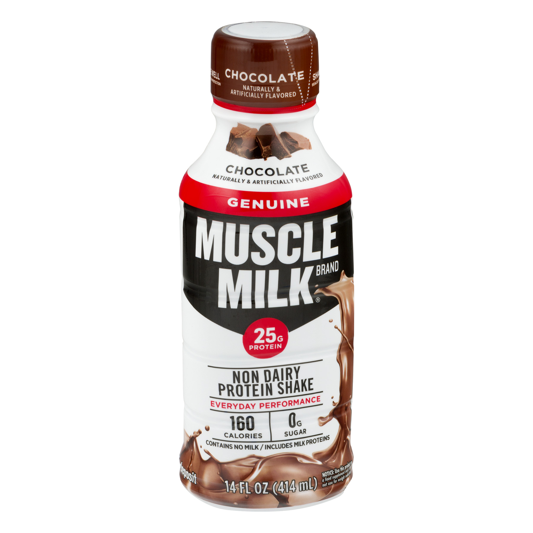 Muscle Milk Protein Shake Chocolate, 14.0 FL OZ