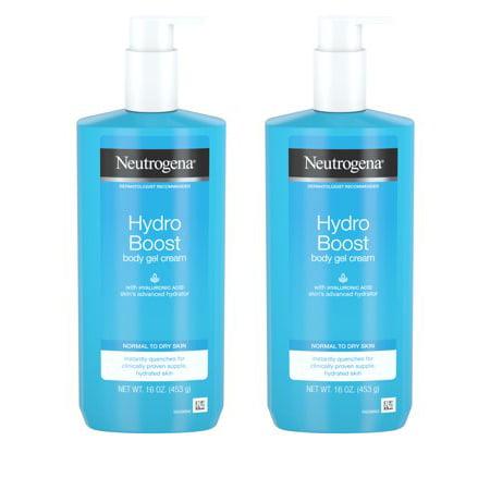 Curve Gel Body Lotion - (2 pack) Neutrogena Hydro Boost Hydrating Body Gel Cream with Hyaluronic Acid, 16 oz
