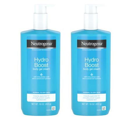 Neutrogena Hydro Boost Body Gel Cream with Hyaluronic Acid, 16 oz