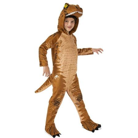 Jurassic World: Fallen Kingdom Childrens T-Rex Oversized Jumpsuit - Childrens Halloween Events