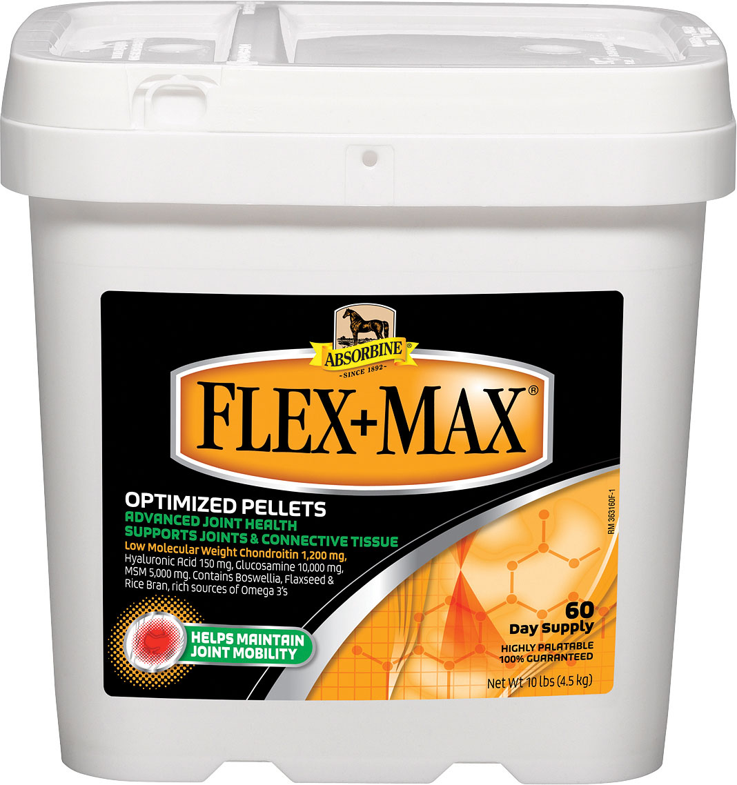 ABSORBINE FLEX+MAX OPTIMIZED JOINT HEALTH PELLETS