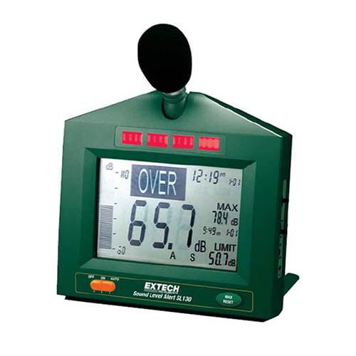 Extech SL130G Sound Level Alert with Alarm 30-130dB Meter