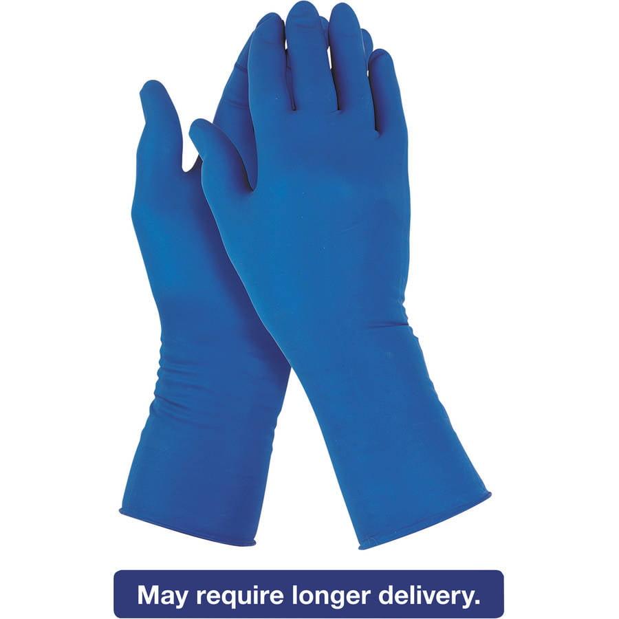 Jackson Safety* G29 Solvent Resistant Gloves, Medium/Size 8, Blue, 500/Carton