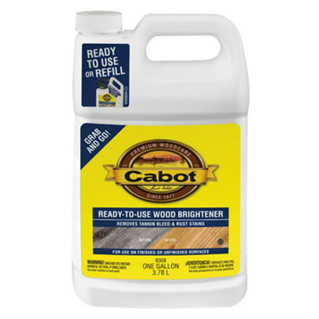 Cabot Ready-To-Use Wood Brightener (Wood Brightener)