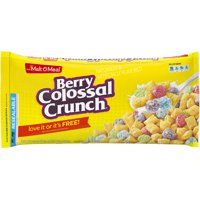 Malt-O-Meal Breakfast Cereal, Berry Colossal Crunch, 38.5 Oz Zip Bag