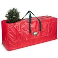 "Holiday Star Christmas Storage Bag For Christmas Tree Up To 7 Ft tall - 48"" x 15"" x 20"" (Red)"