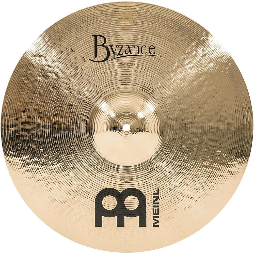 Meinl Byzance Brilliant Medium Crash Cymbal 18 in. by Meinl