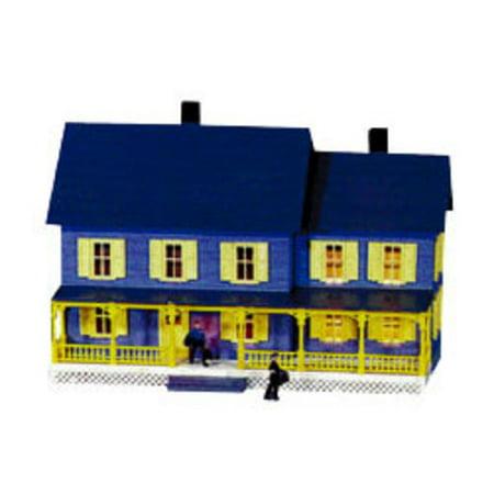490 Bella's Farm House Kit HO Multi-Colored