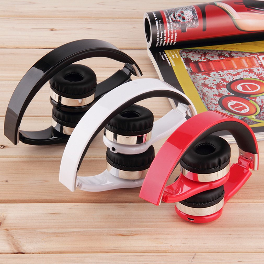 Bluetooth Foldable Stereo Headset Handsfree Headphone For Cellphone PC Laptop