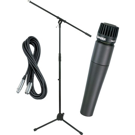 Shure Audio - Shure SM57 Mic with Cable & Stand