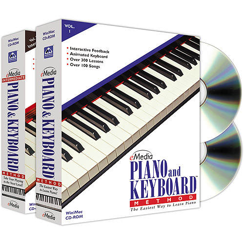 Emedia E Media Piano & Keyboard Method Deluxe 2 - volume Package