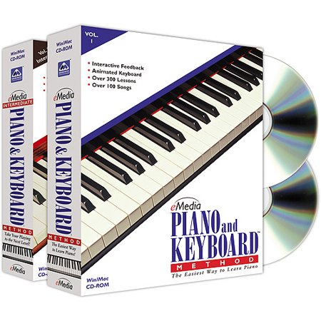 eMedia Piano & Keyboard Method Deluxe 2-Volume Package
