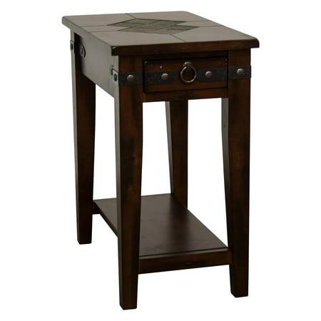 Sunny Designs Santa Fe 1 Drawer Chair Side Table