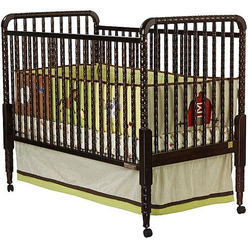 Dream on Me Jenny Lind Fixed-Side Crib, Espresso