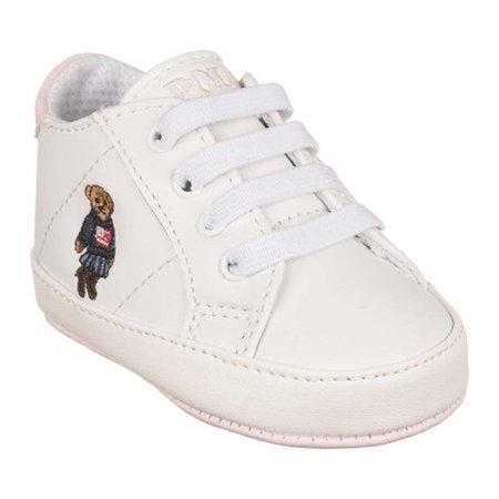 Infant Girls' Polo Ralph Lauren Quilton Bear Gore High Top