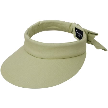e7f4d714 Simplicity - Women's SPF 50+ UV Protection Wide Brim Beach Sun Visor  Hat,Lime - Walmart.com