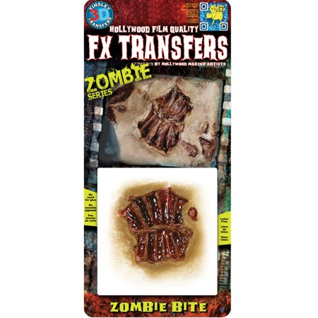 Zombie Small Bite 3D FX Adult Halloween Accessory - Zombie Bite