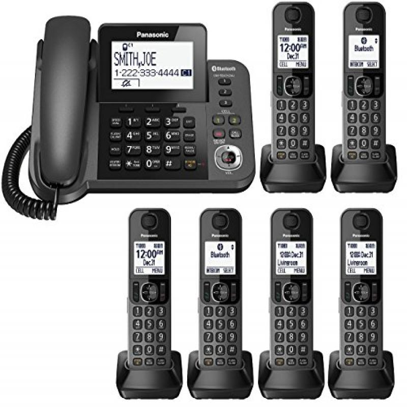 Panasonic Link2Cell Bluetooth Corded/Cordless Phone Syste...