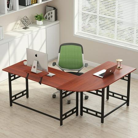 Tribesigns 67 Large Modern L Shaped Desk Corner Computer Office Pc Laptop Study