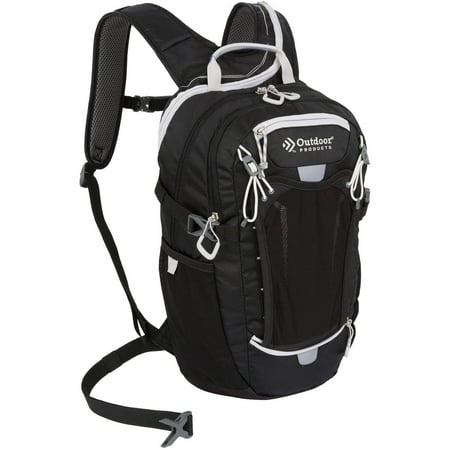 Hydration Daypacks - Outdoor Products Deluxe Hydration Pack Backpack with 2-Liter Reservoir, Black