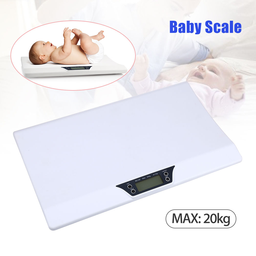 Newborn Baby Infant Scale Weight Grow Electronic Meter Digital Safety Durable