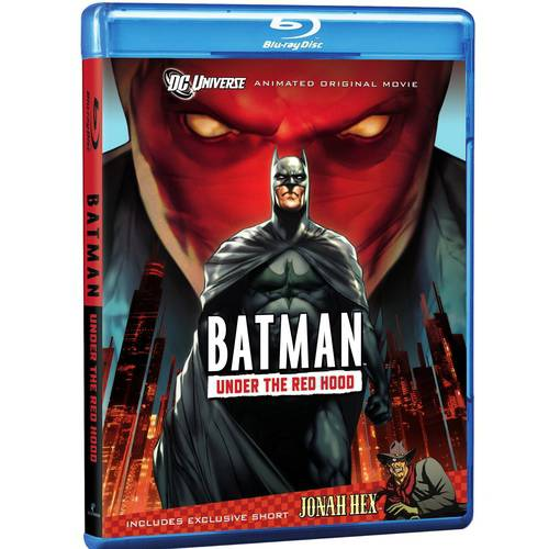 BATMAN-UNDER THE RED HOOD (BLU-RAY)