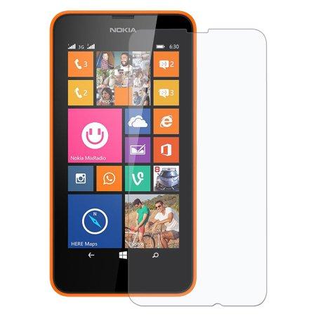 Clear Screen Protector Scratch Guard Shield for Nokia Lumia 638, Sprint Nokia Lumia 635, Nokia Lumia 635, Nokia Lumia 630 (Nokia Lumia 638)