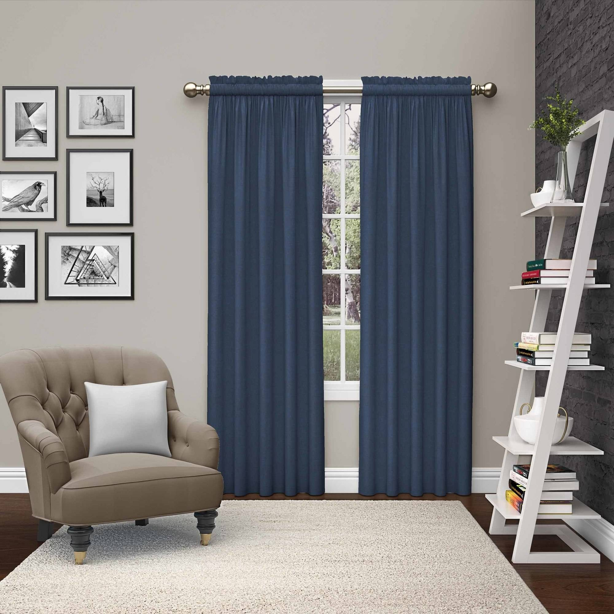 Pairs to Go Teller 2 Pack Window Curtain Panel Pairs