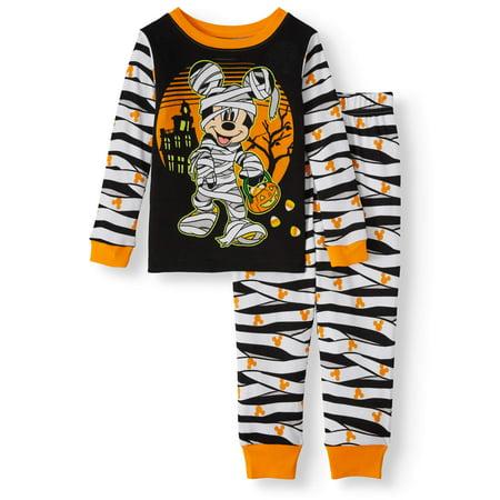 Bananas In Pyjamas Halloween (Halloween Mickey Mouse Toddler Boy Long Sleeve Cotton Snug Fit Pajamas, 2-Piece)