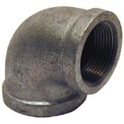 Pannext Fittings G-REL1512 Galvanized Reducing Elbow - 1.5 x 1.25 in.