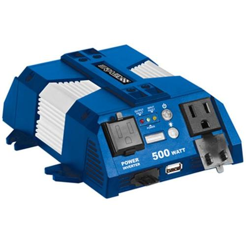 Rally Manufacturing 7637 Marine 500W Inverter with USB Port