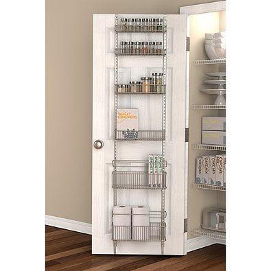 Premium Over The Door 100 Steel Frame Pantry Organizer In