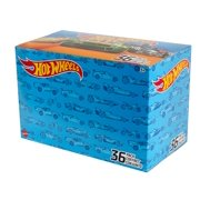 Hot Wheels 36 Car Multi-Pack of 1:64 Scale Vehicles for Kids & Collectors