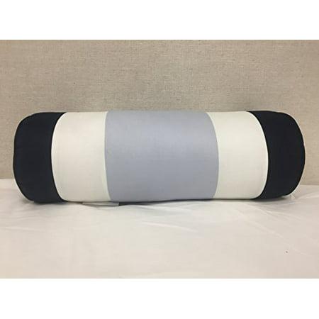 Bed Bath & Beyond Striped Bolster (Light Blue, Navy, White), 18