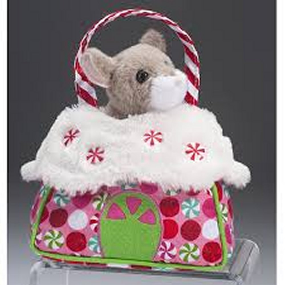 Candy Cane House Sassy Pet Sak, Surface Washable By Douglas Ship from US by