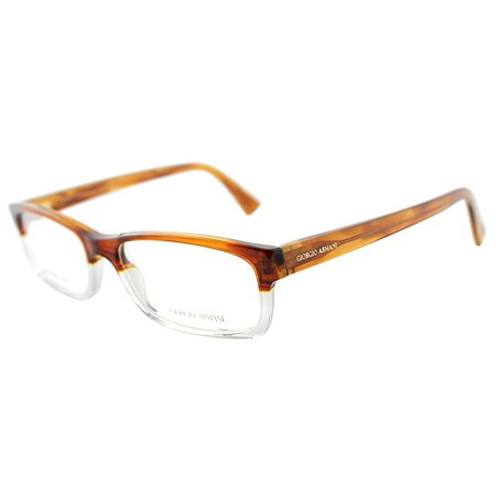 Giorgio Armani GA765 EID 45mm Unisex Rectangle (Giorgio Armani Frames Of Life Glasses)