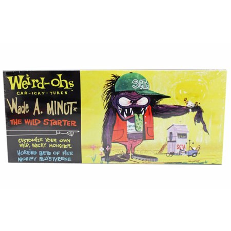 Weird Ohs Model (Weird-Ohs Car-Icky-Tures Wade A. Minut Paintable Model Kit)