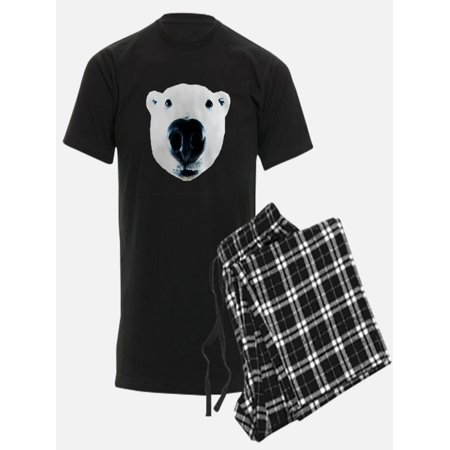 CafePress - Polar Bear Sniff - Men's Dark Pajamas