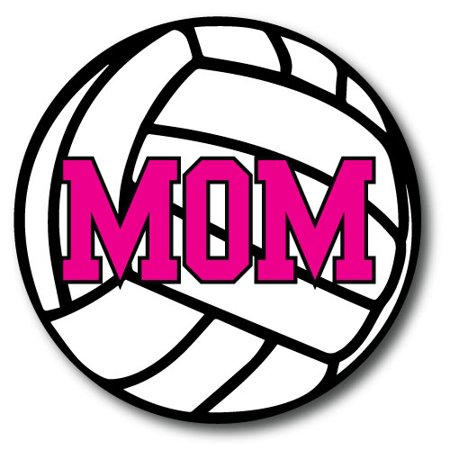 Volleyball Mom Car Magnet 5